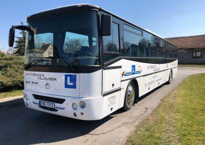 Autobus Karosa Autoškola Hloušek